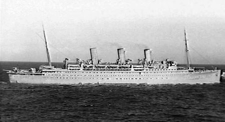 Express of Canada zbudowano w 1920 dla Canadian Pacific Steamships. W czasie wojny okręt przekształcono w jednostkę transportową. 13 marca 1943 Express of Canada został storpedowany przez włoski okręt podwodny Leonardo da Vinci około 400 mil (640 km) na południe od Cape Palmas u wybrzeży Afryki. / Zdjęcie: en.wikipedia.org