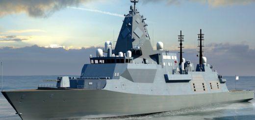 BAE Systems opracuje nową klasę fregat. / Ilustracja: Royal Australian Navy