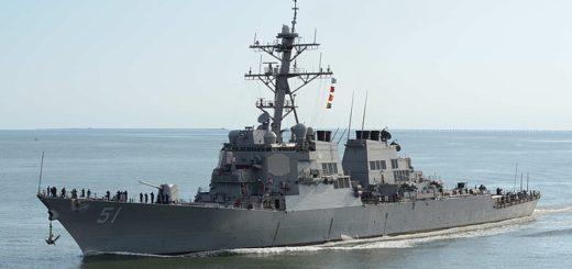 HII Ingalls Shipbuilding wygrał kontrakt na budowę dodatkowego niszczyciela DDG 51 Flight III dla amerykańskiej marynarki wojennej. / Zdjęcie: RJ Stratchko / naval-technology.com