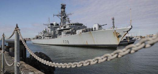 HMS Kent wrócił do Portsmouth. / Zdjęcie: royalnavy.mod.uk