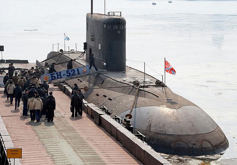 Okręt podwodny typu Kilo. / Zdjęcie:  Archiwum RIA Novosti, Vitaliy Ankov