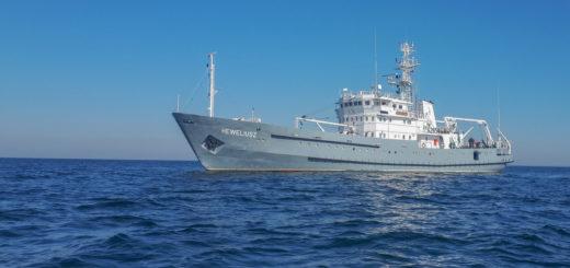 Prace na rzecz bezpieczeństwa żeglugi - 3.FO. / Zdjęcie: Załoga ORP Heweliusz