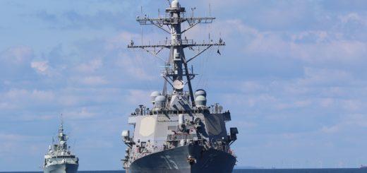 USS Donald Cook (DDG 75) podczas ćwiczeń BALTOPS 2020, (8 czerwca 2020 r.) / Zdjęcie US Navy