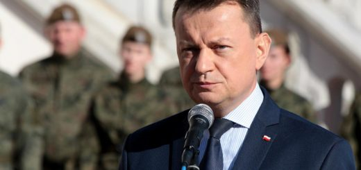 Minister Obrony Narodowej Mariusz Błaszczak. / Zdjęcie: MON