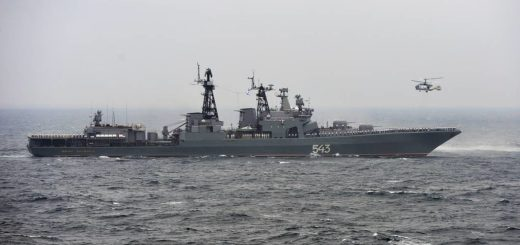 Fregata Marshal Shaposhnikov. / Zdjęcie: Yuri Smityuk/TASS