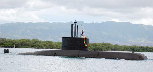 Okręty podwodne typu 209. Dziewięć takich okrętów ma obecnie Marynarka Wojenna Korei Południowej. / Zdjęcie: Mass Communication Specialist Seaman Apprentice Luciano Marano