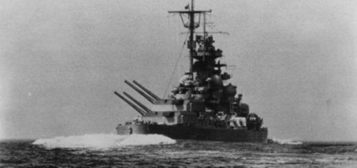 Tirpitz w morzu. / Zdjęcie: warfaremagazine.co.uk
