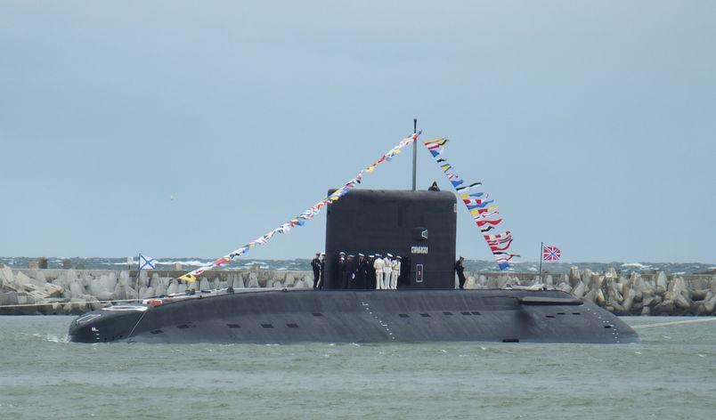 Okręt podwodny proj. 636.3 / Zdjęcie: Defence24.pl