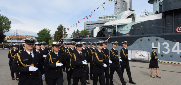 Promocje oficerskie. / Zdjęcie: Krzysztof Miłosz/AMW