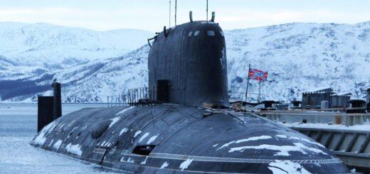 """Okręt podwodny projektu 885 """"K-560 Siewierodwińsk"""". / Zdjęcie: Marynarka Wojenna Rosji"""