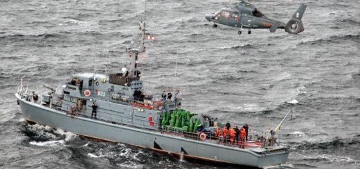 Manewry Brygady Lotnictwa Marynarki Wojennej pk. Kormoran-20. / Zdjęcie: kpt. Mariusz Kalinowski
