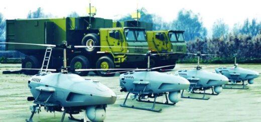 Systemy bezzałogowego śmigłowca CR500 Golden Eagle. / Zdjęcie: NORINCO