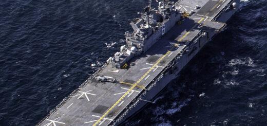 Okręt desantowy USS America (LHA 6). / Zdjęcie: www.navy.mil