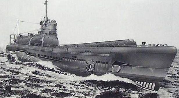 Okręt podwodny typu Sen-Toku (typ I-400). / Zdjęcie: Eereporter.Blogspot.com
