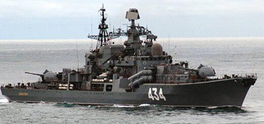 Niszczyciel Admirał Uszakow projektu 956. / Zdjęcie: Ministerstwo Obrony Rosji