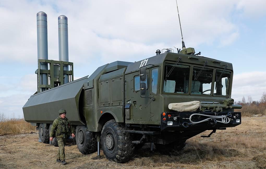 Mobilny system Bastion do obrony wybrzeża przed okrętami wojennymi. / Zdjęcie: Vitaly Nevar / TASS