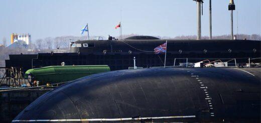 Atomowy okręt podwodny Project 949A typ Antey. /Zdjęcie: © Yuri Smityuk/TASS