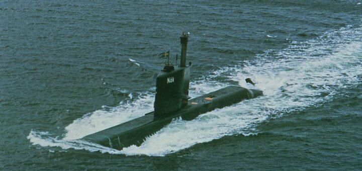 Okręt podwodny HMS Näcken (Näk). / Zdjęcie: Szwedzkie Muzeum Marynarki Wojennej
