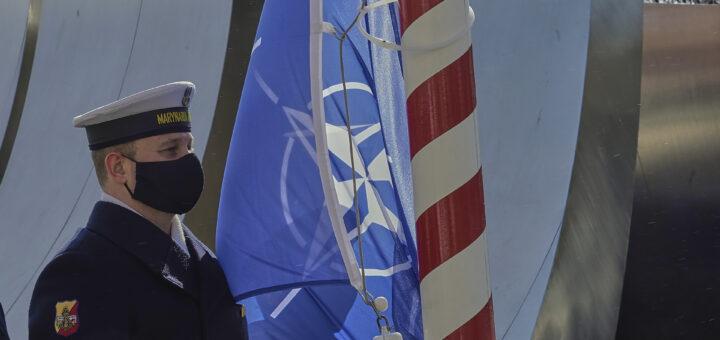 Marynarka Wojenna RP jest już 22 lata w NATO. / Zdjęcie: st. chor. szt. mar. Piotr Leoniak/3.FO