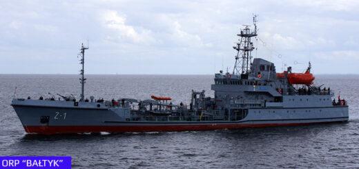 Zbiornikowiec ORP Bałtyk.