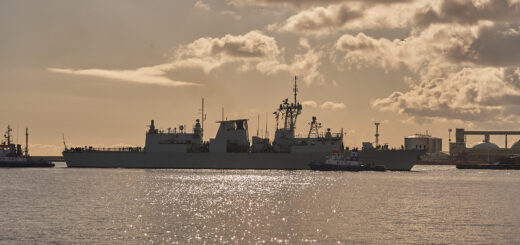 Stały zespół NATO w Gdyni. / Zdjęcie: st. chor. szt. mar. Piotr Leoniak/3.FO