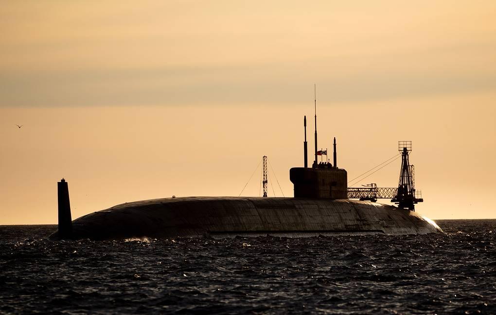 Rosyjski okręt podwodny o napędzie atomowym Projekt. / Zdjęcie: Sergei Bobylev / TASS
