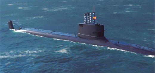 Nowy hiszpański okręt podwodny S-81 Isaac Peral.