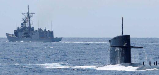 Tajwan przez lata pracował nad przebudową swoich okrętów. / Zdjęcie: Reuters/Tyrone Siu