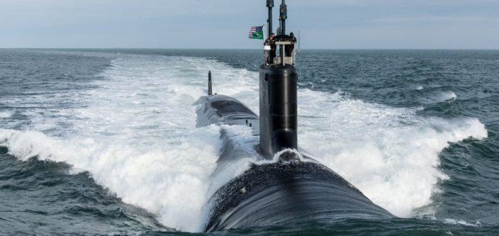 Okręt podwodny klasy Virginia, USS Washington SSN-787. / Zdjęcie: Huntington Ingalls