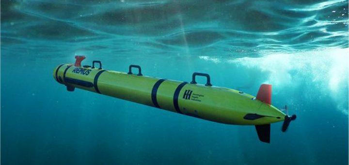 Remus 300 Unmanned Underwater Vehicle. / Zdjęcie: Huntington Ingalls Industries