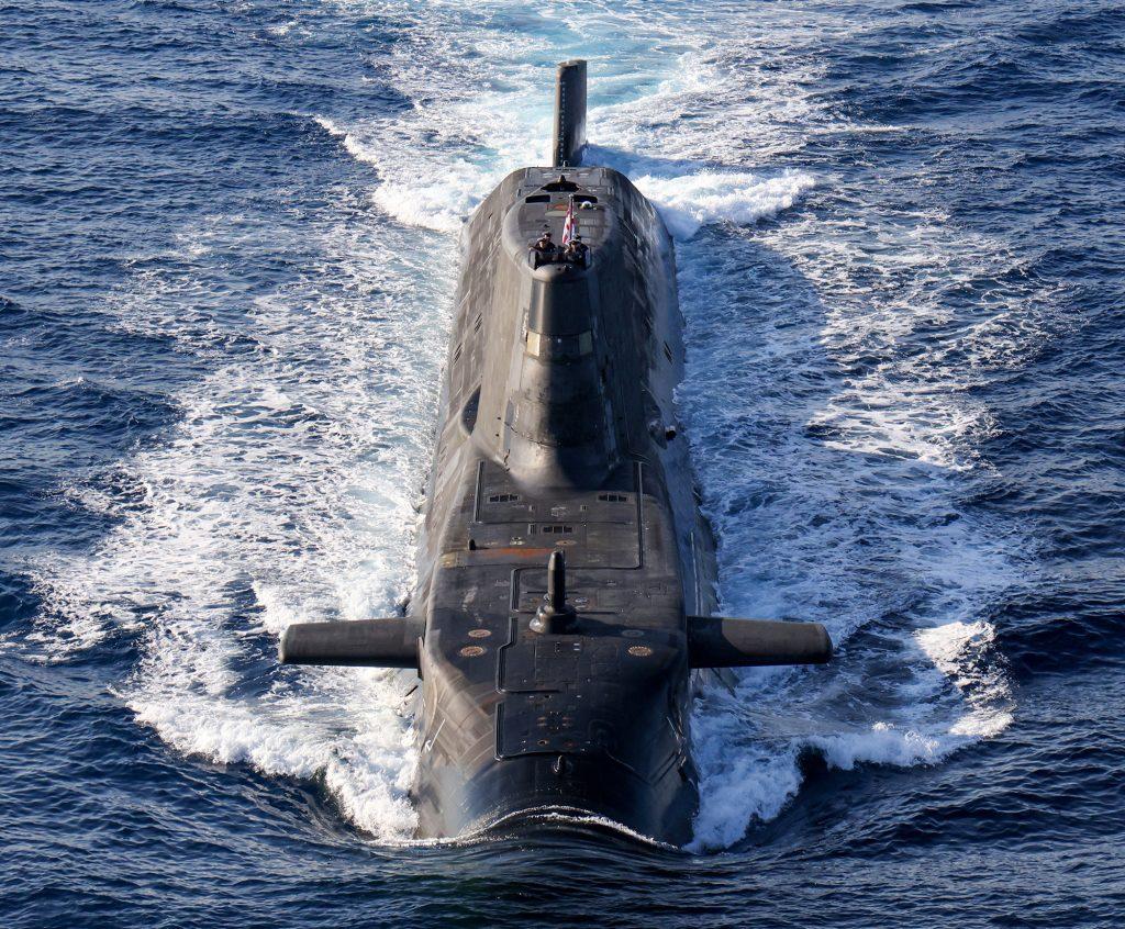HMS Artful na Morzu Śródziemnym. / Zdjęcie: Royal Navy