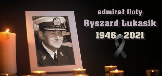 Admirał Floty Ryszard Łukasik