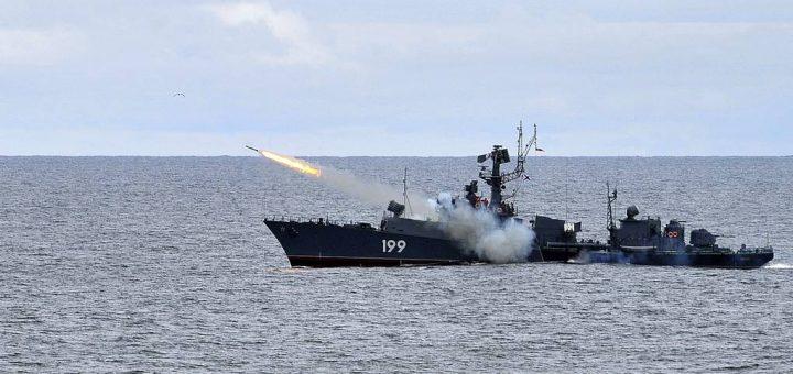 Okręt ZOP Floty Północnej Brześć. / Zdjęcie: Lew Fedosejew/TASS
