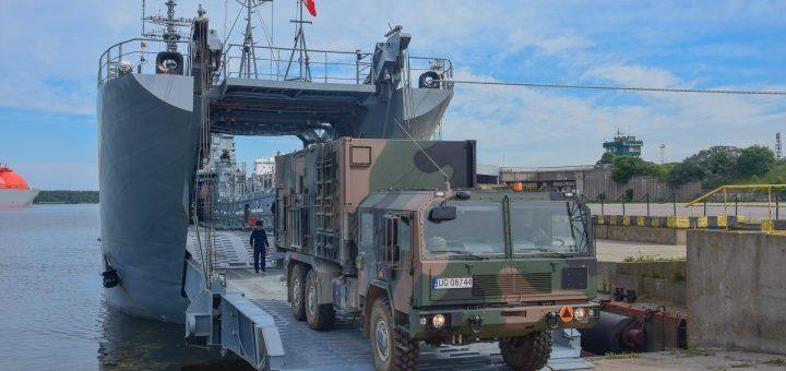 Moduł bojowy Morskiej Jednostki Rakietowej. / Zdjęcie: por. Cezary Skwierawski