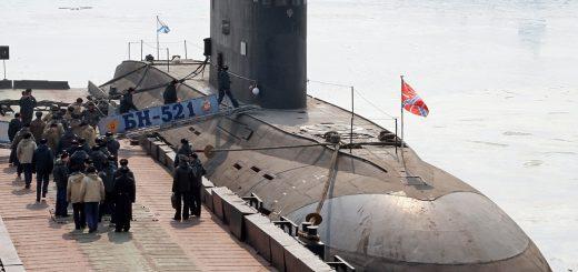 Okręt podwodny klasy Kilo (Warszawianka). Rosyjska Flota Bałtycka ma dwa takie okręty. / Zdjęcie: RIA Novosti