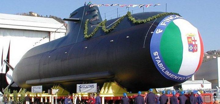 Okręt podwodny Salvatore Torano klasy Todaro. / Zdjęcie: Wikipedia
