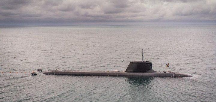 Francuski okręt podwodny Suffren. / Zdjęcie: francuskie Ministerstwo Sił Zbrojnych