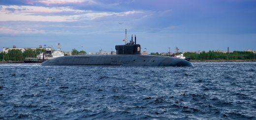 Okręt podwodny projektu 955A Borei-A Knyaz Oleg. / Zdjęcie: Oleg Kuleshov