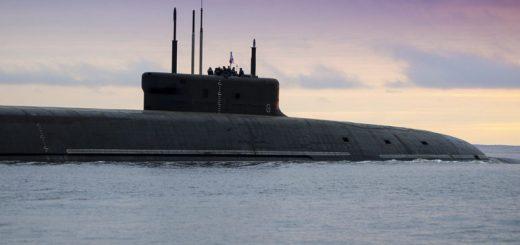 Atomowy okręt podwodny Project 955A Borei-A SSBN Knyaz Vladimir. / Zdjęcie: Marynarka Wojenna Rosji