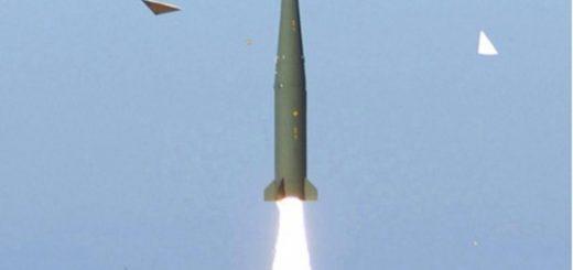 Pocisk Hyunmoo-2B. / Zdjęcie: UPI