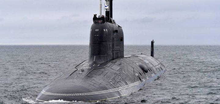Okręt podwodny Floty Północnej. / Zdjęcie: Lew Fedosejew/TASS