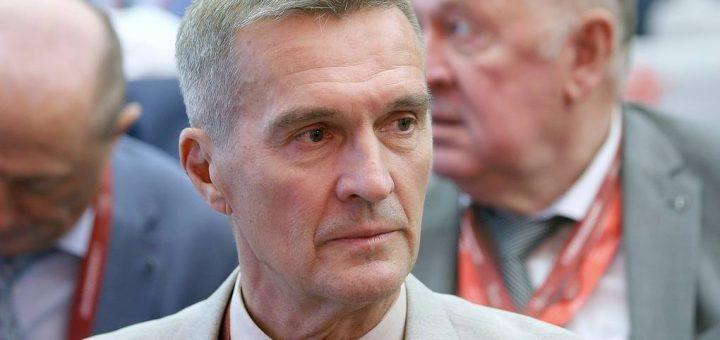 Prezes korporacji Tactical Missiles Corporation Boris Obnosov. / Zdjęcie: Marina Lystseva/TASS