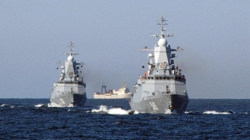 Rosyjskie okręty Floty Bałtyckiej wyszły w morze w ramach ćwiczeń Zapad 21. / Zdjęcie: Ministerstwo Obrony Federacji Rosyjskiej
