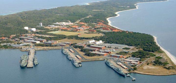 Australijska Baza HMAS Stirling, to tu mogą niedługo stacjonować atomowe okręty podwodne pozyskane przez Australię. / Zdjęcie; Ministerstwo Obrony Australii