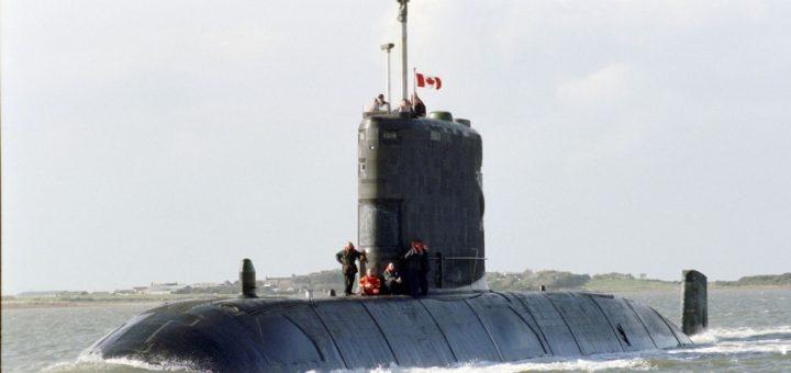 Okręt HMCS Windsor. / Zdjęcie: Alan Rowlands/Wikimedia (domena publiczna)