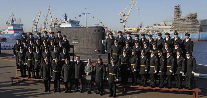 Rosyjski okręt podwodny Magadan Projekt 636-2. / Zdjęcie: Marynarka Wojenna Rosji